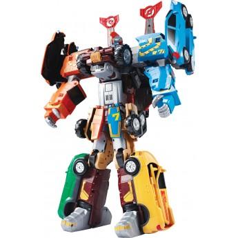 Игрушка-трансформер Tobot S4 GIGA 7 в 1 со светом и звуком Young Toys (301050)
