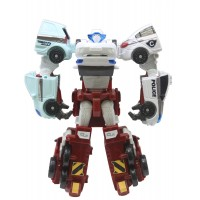 Игрушка-трансформер Tobot S3 мини Квартан, 4 в 1 Young Toys (301057)