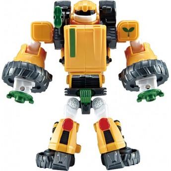 Игрушка-трансформер Tobot S4 мини T, желтый трактор Young Toys (301077)