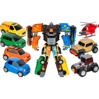 Игрушка-трансформер Tobot S4 мини GIGA, 7 в 1 Young Toys (301078)