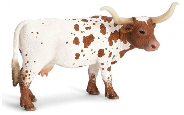 Фигурка Schleich техасская корова Лонгхорн (13685)
