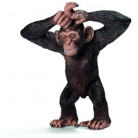 Фігурка Schleich Молодий шимпанзе (Шляйх)