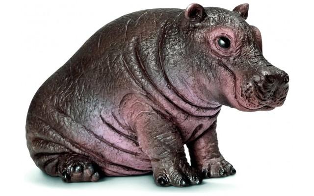 Фигурка Schleich Детеныш бегемота (Шляйх)