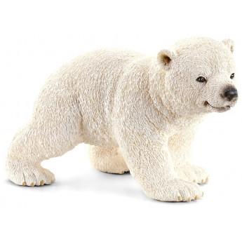 Фигурка Schleich Белый медвежонок на прогулке (Шляйх)