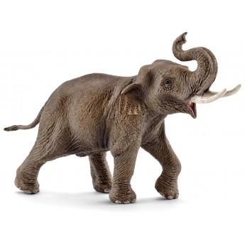 Фигурка Schleich Самец азиатского слона (Шляйх)