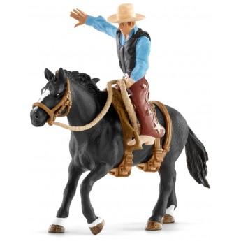 Всадник Schleich ковбой верхом на коне (41416)