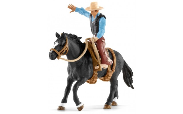 Вершник Schleich ковбой на коні (41416)
