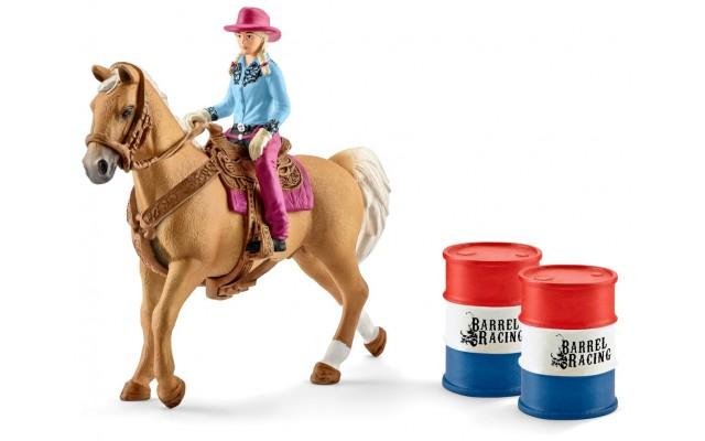Фігурки Schleich вершниця-ковбой на коні (41417)
