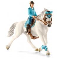 Фигурки Schleich всадница с лошадью (42111)