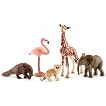 Игровой набор Schleich дикие животные (42388)