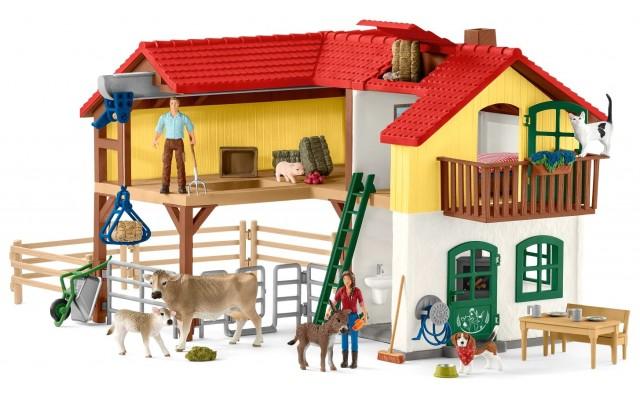 Набор Schleich Большая ферма с животными (42407)