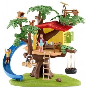 Набор Schleich Домик на дереве с горкой (42408)
