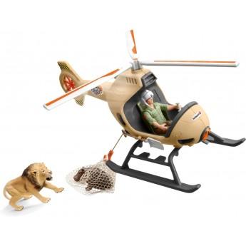 Набор Schleich Вертолет для спасения животных (42476)
