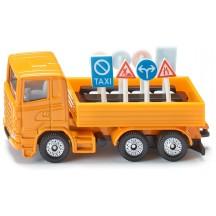 Игрушка Siku грузовик с дорожными знаками (1322)