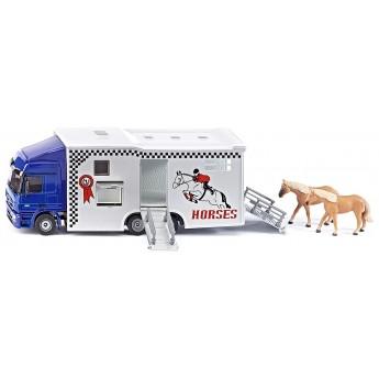 Модель Siku грузовик с лошадями Mercedes-Benz Actros (1942)