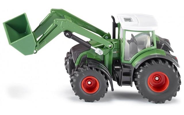 Модель Siku трактор Fendt с погрузчиком (1981)