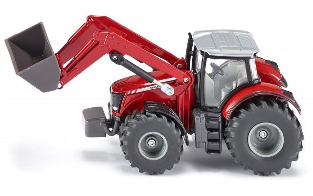 Модель Siku трактор Massey Ferguson с погрузчиком (1985)