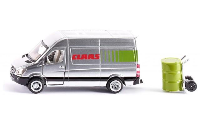 Модель Siku фургон Mercedes Sprinter в дизайне Claas (1995)
