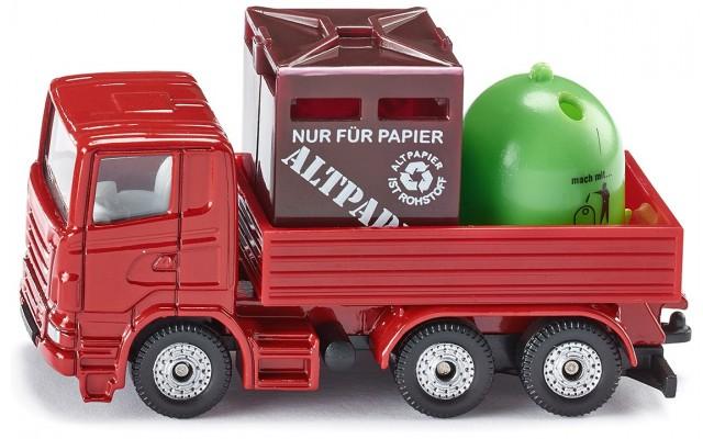 Игрушка Siku грузовик для перевозки мусора (828)